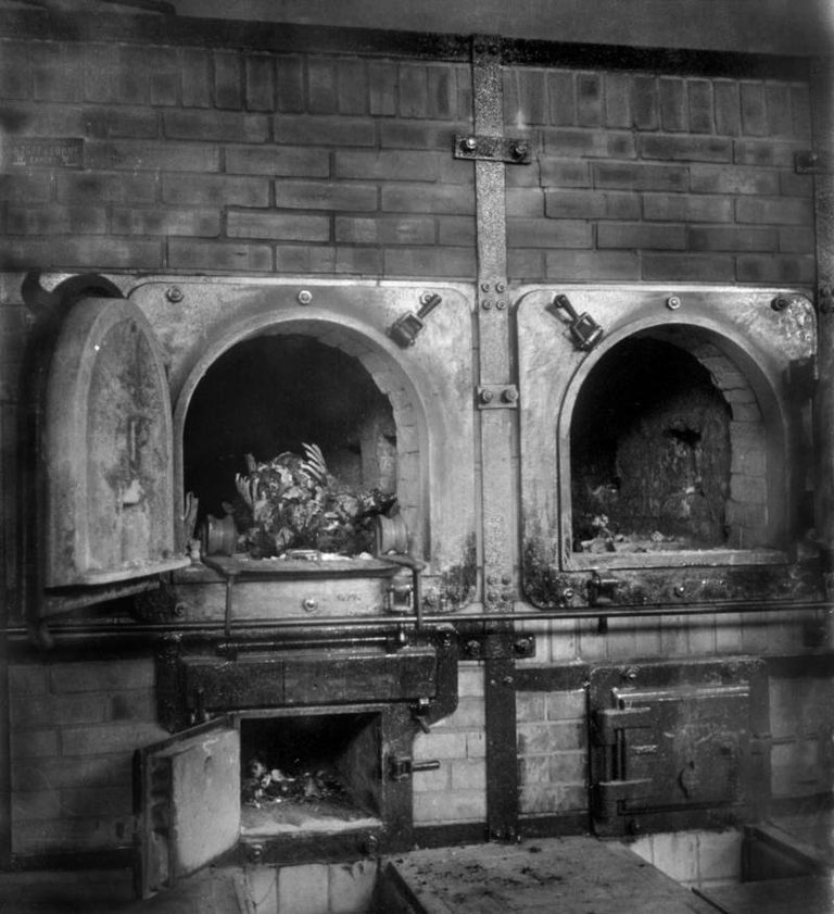 The crematory ovens of the Buchenwald concentration camp, April 1945..jpg